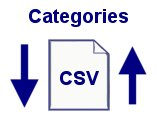 Advanced CSV Category Data Utility